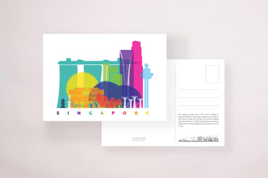 SG Skyline Postcard - Local Postcards - YOUNIVERSE DESIGN - Naiise