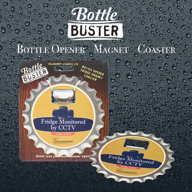 BOTTLE BUSTER - Best Bottle Opener : Fridge Monitor - Bottle Openers - La Belle Collection - Naiise
