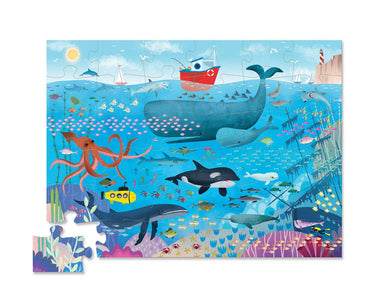 36-pc Puzzle - Under the Sea - Kids Puzzles - The Children's Showcase - Naiise