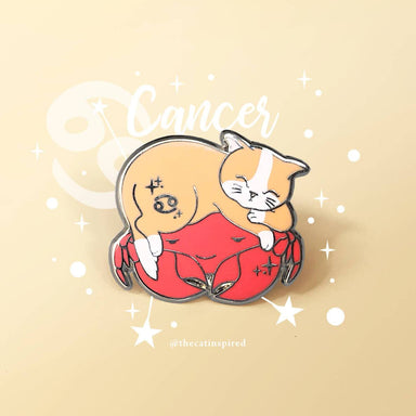 Cancer Pin - Brooches - The Cat Inspired - Naiise