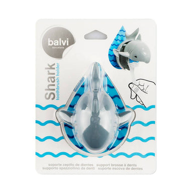 Balvi - Toothbrush Holder Shark Adhesive - Toothbrush Holder - The Planet Collection - Naiise