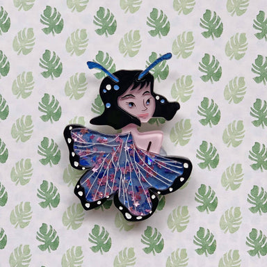 Starr the Butterfly Lady Brooch - Brooches - She Loves Blooms - Naiise