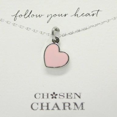 CHOSEN CHARMS - For Special One : Pink Heart - Charms - La Belle Collection - Naiise