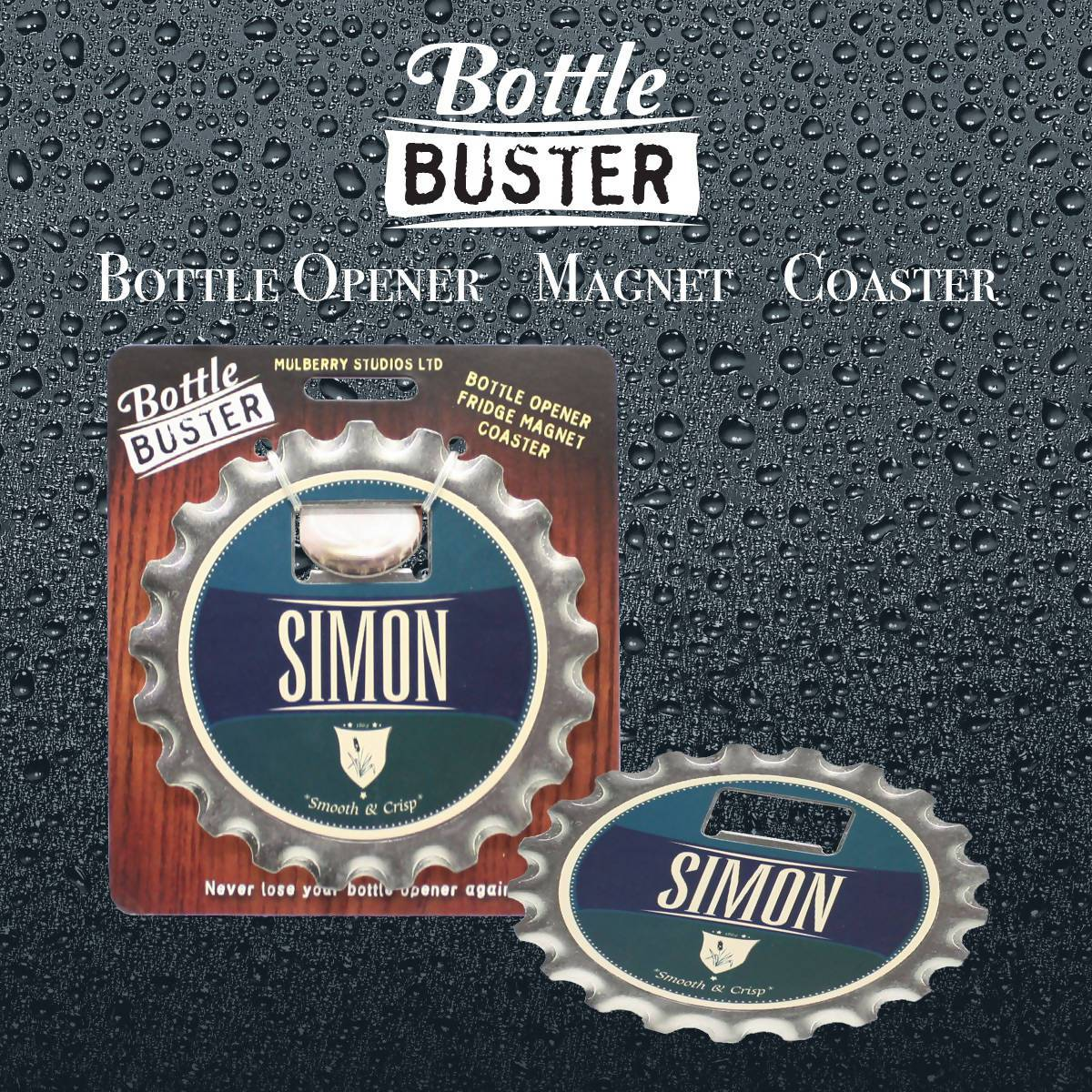 BOTTLE BUSTER - Best Bottle Opener : Simon - Bottle Openers - La Belle Collection - Naiise