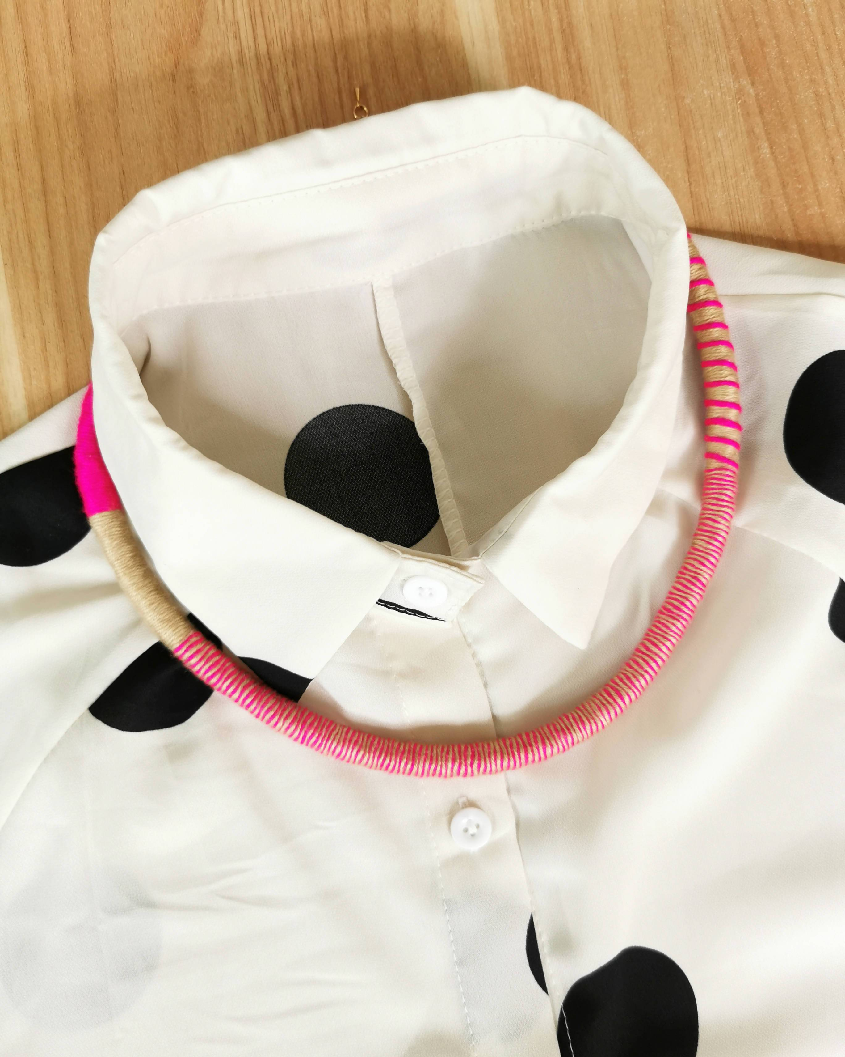 Tribeca Multi-wear Rope Necklace/Bracelet - Hot Pink/Khaki - Bracelets - Playtime Rebs Studio - Naiise