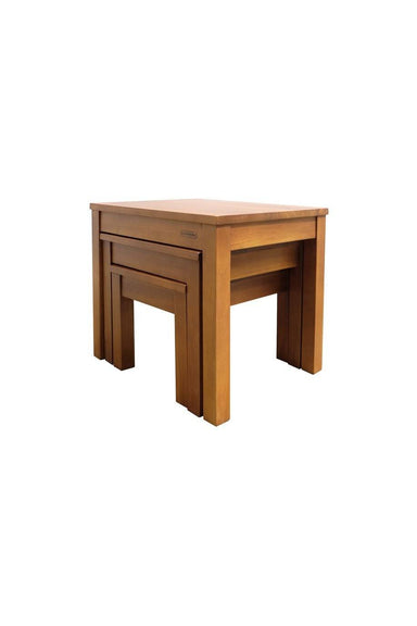 STAK Nesting Table - Side Table - Scanteak - Naiise
