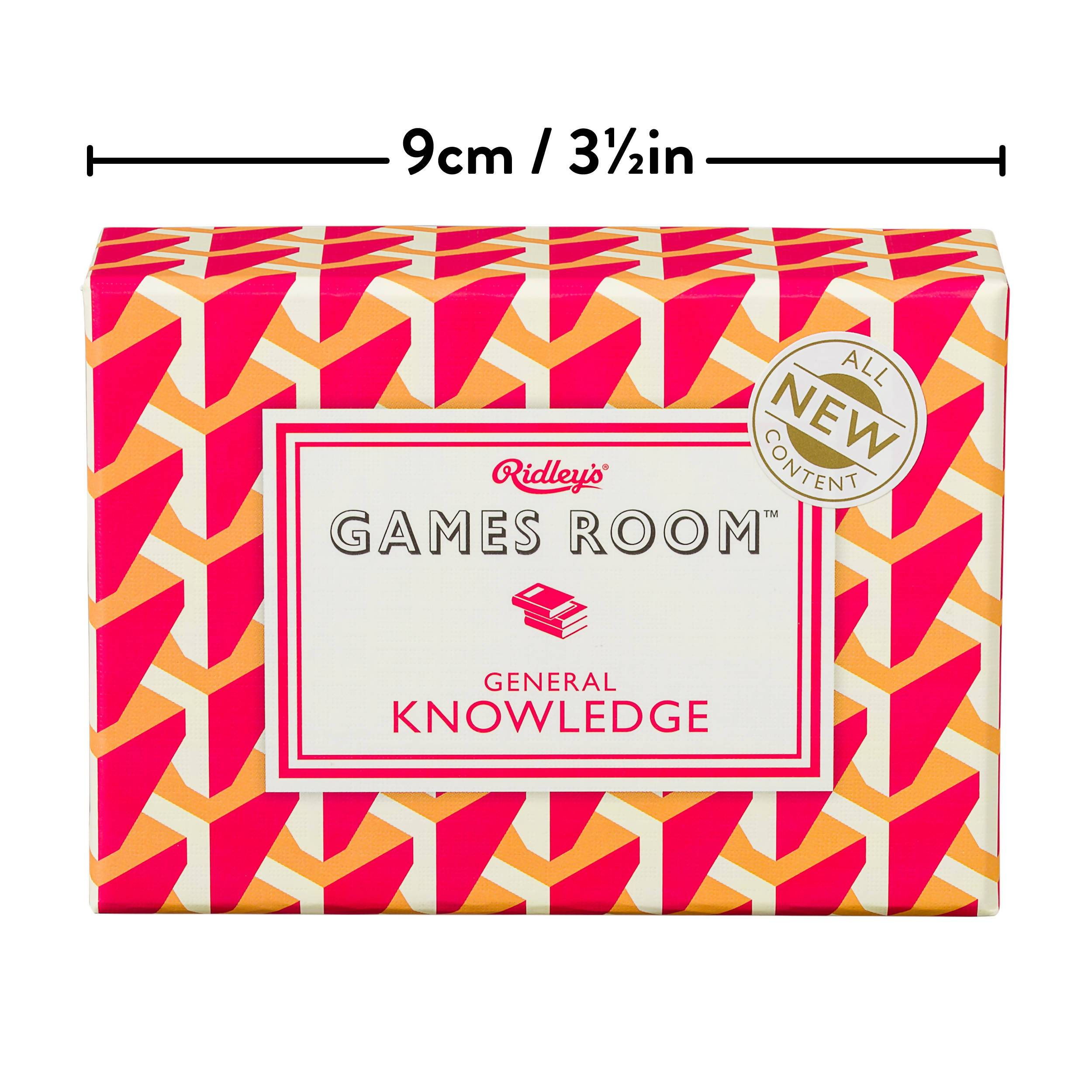 Ridley's General Knowledge Quiz V3 Card Game - Card Games - The Planet Collection - Naiise