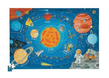 200-pc Puzzle+Poster - Space - Kids Puzzles - The Children's Showcase - Naiise