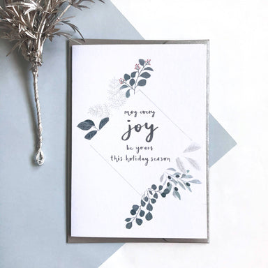 May Every Joy be Yours | Christmas Greeting Card - Christmas Cards - Papercranes Design - Naiise