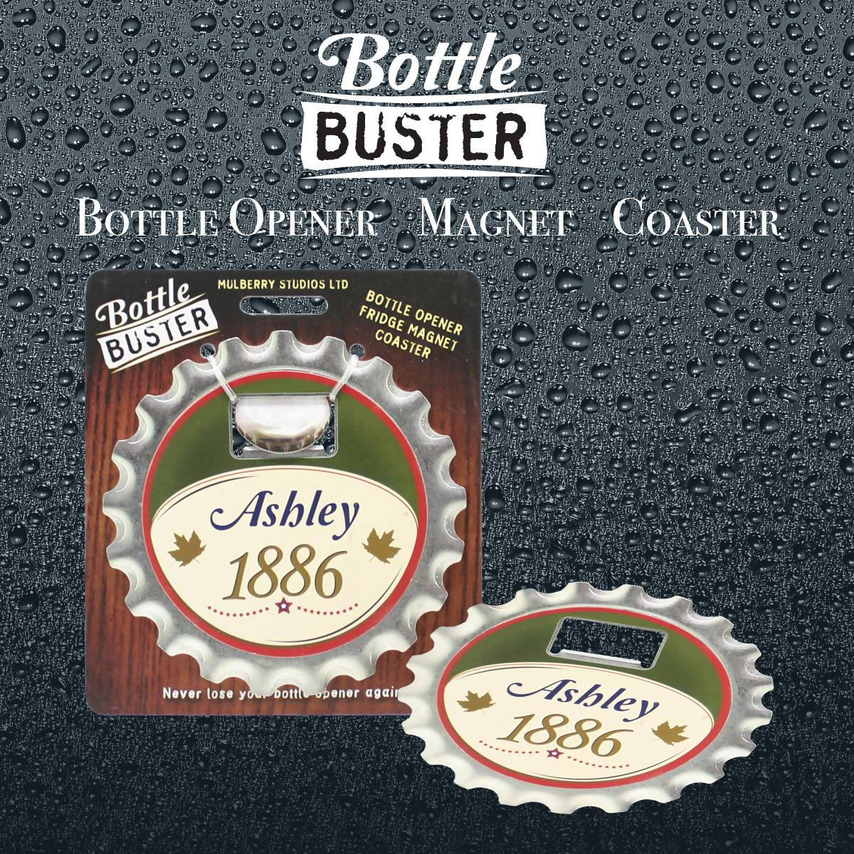 BOTTLE BUSTER - Best Bottle Opener : Ashley - Bottle Openers - La Belle Collection - Naiise