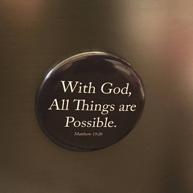 Magnet - With God All Things Are Possible - Local Magnets - The Super Blessed - Naiise