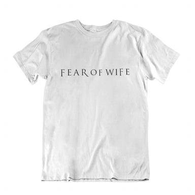Fear of Wife Crew Neck S-Sleeve T-shirt - Local T-shirts - Wet Tee Shirt / Uncle Ahn T / Heng Tee Shirt / KaoBeiKing - Naiise