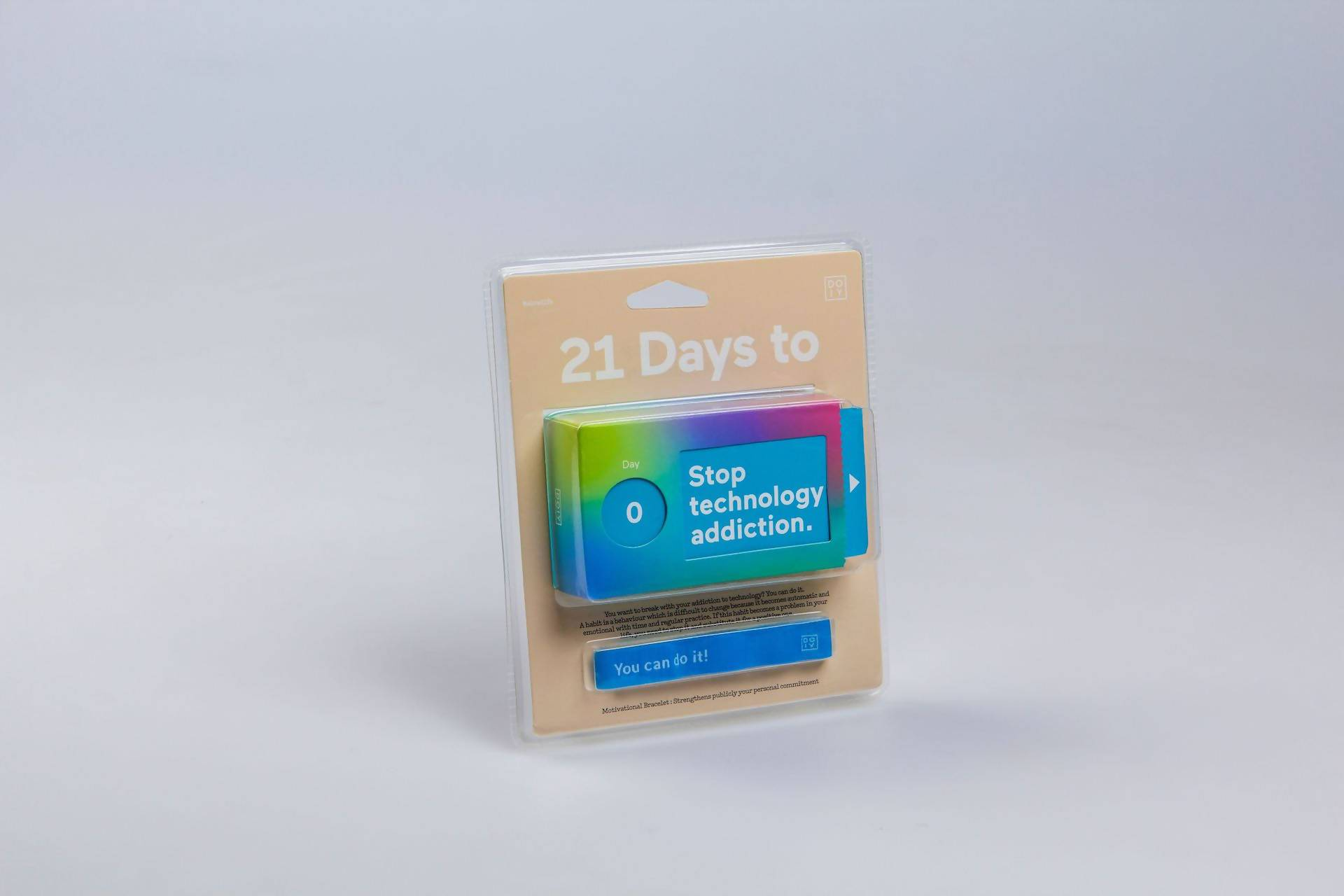 Doiy - 21 Days to Stop Tech Addiction - Novelty Gifts - The Planet Collection - Naiise