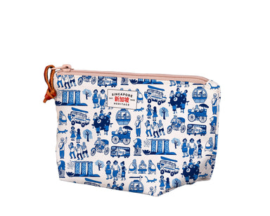SG Icon Print Medium Pouch Local Pouches Chalo