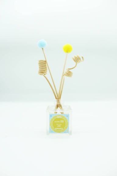 Reed Diffuser - Girl's Pom Pom (LIME MANDARIN) - Diffusers - The Planet Collection - Naiise