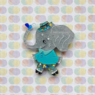Ellie the Elephant Brooch - Brooches - She Loves Blooms - Naiise