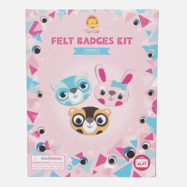 FELT BADGES KIT - ANIMALS Toys The Children's Showcase