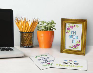 Fred Daily Sampler Desktop Affirmations - Desk Signs - The Planet Collection - Naiise