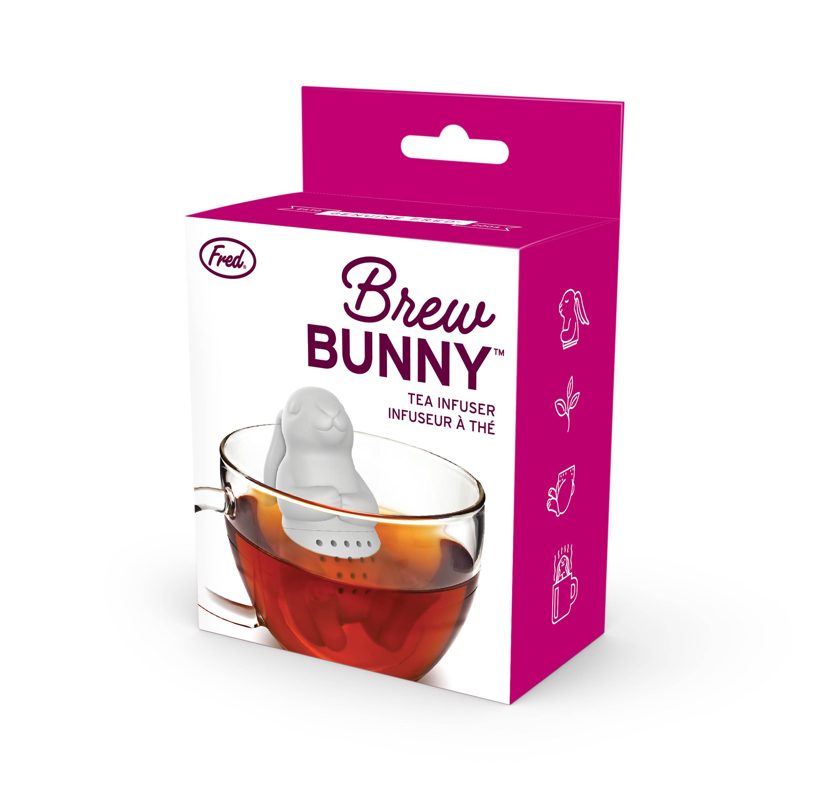 Fred Brew Bunny Tea Infuser - Tea Infusers - The Planet Collection - Naiise