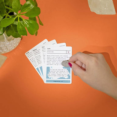 Luckies - Helping Hand Scratch-able card - Card Games - The Planet Collection - Naiise