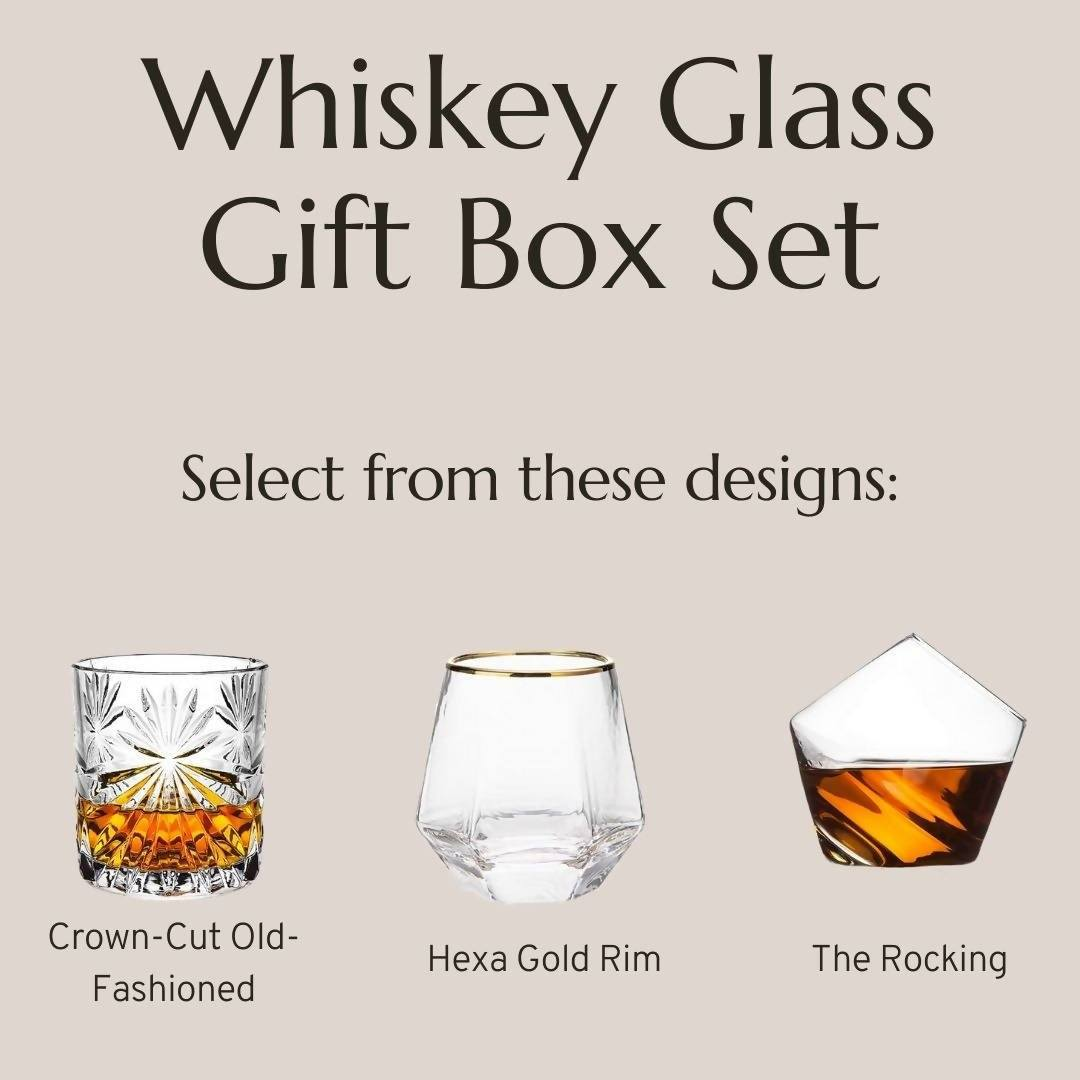 Whiskey Glass Gift Box Gift Sets Base Piece Homeware