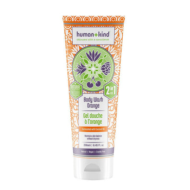 Human and Kind Body Wash Orange - Shower Gel - A GOOD POTION COMPANY - Naiise