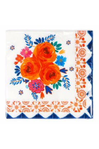 BOHO SPICE FLORAL NAPKINS PARTYWARE The Children's Showcase