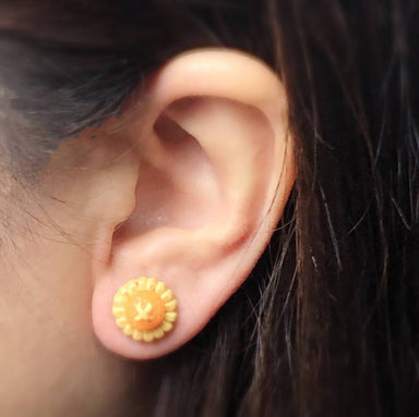Pineapple Tart Earrings - Local Jewellery - Tinkle Arts - Naiise