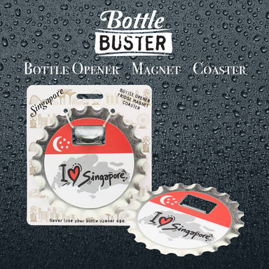 BOTTLE BUSTER - Best Bottle Opener : SG Map - Bottle Openers - La Belle Collection - Naiise