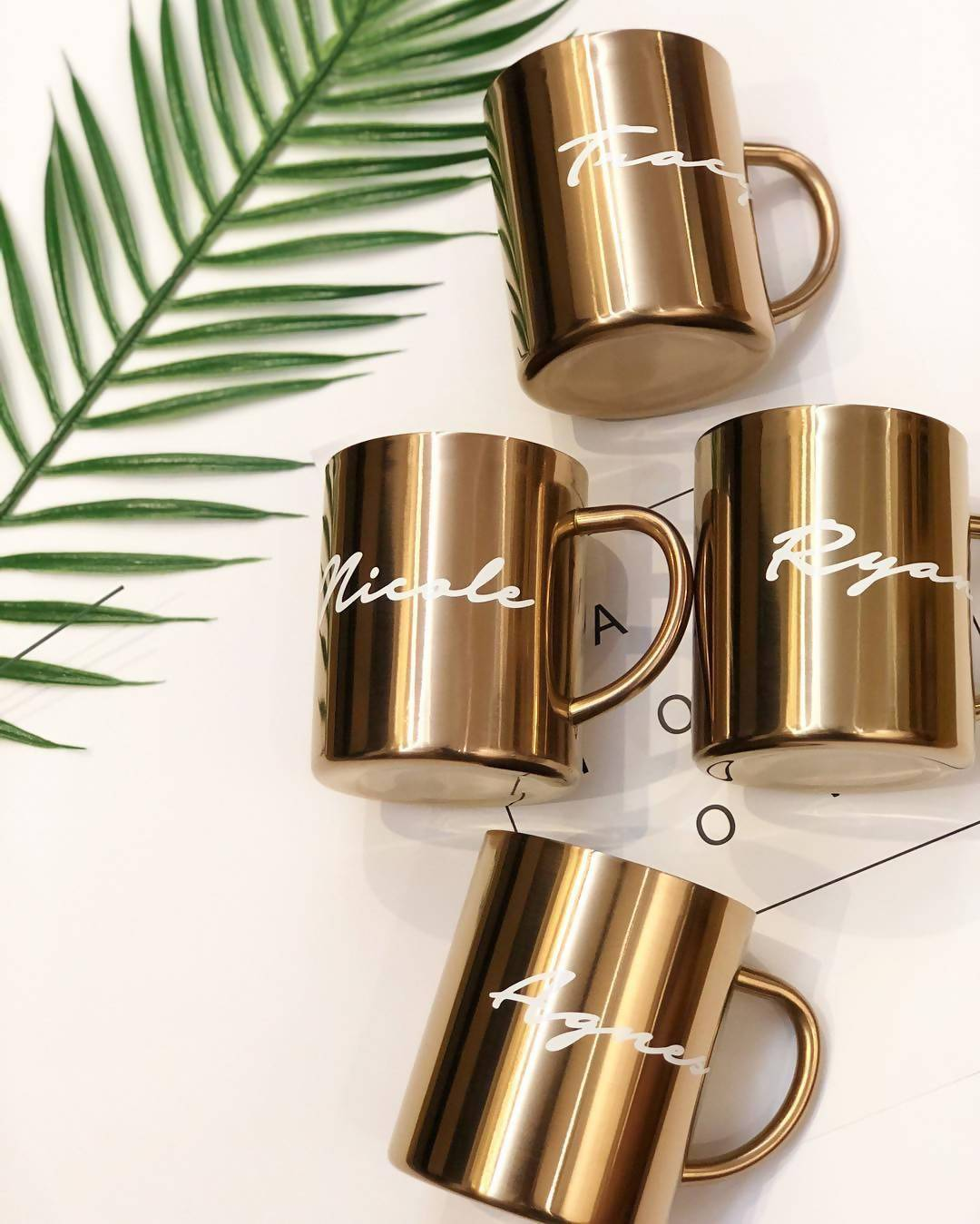 Personalised Industrial-Chic Stainless Steel Mug - Personalised Mugs - KAYSE - Naiise