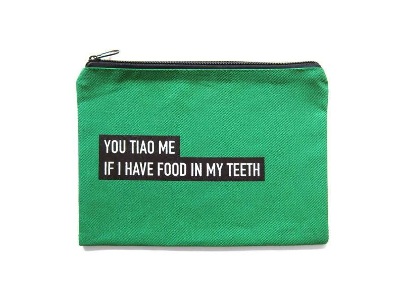 You Tiao Punny Pouch - Local Pouches - LOVE SG - Naiise