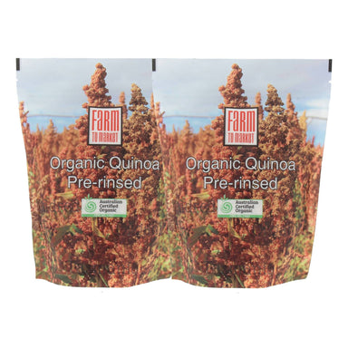 Australian Organic Quinoa (Pre-rinsed) - Twin Pack - Health Food - Farm To Market - Naiise