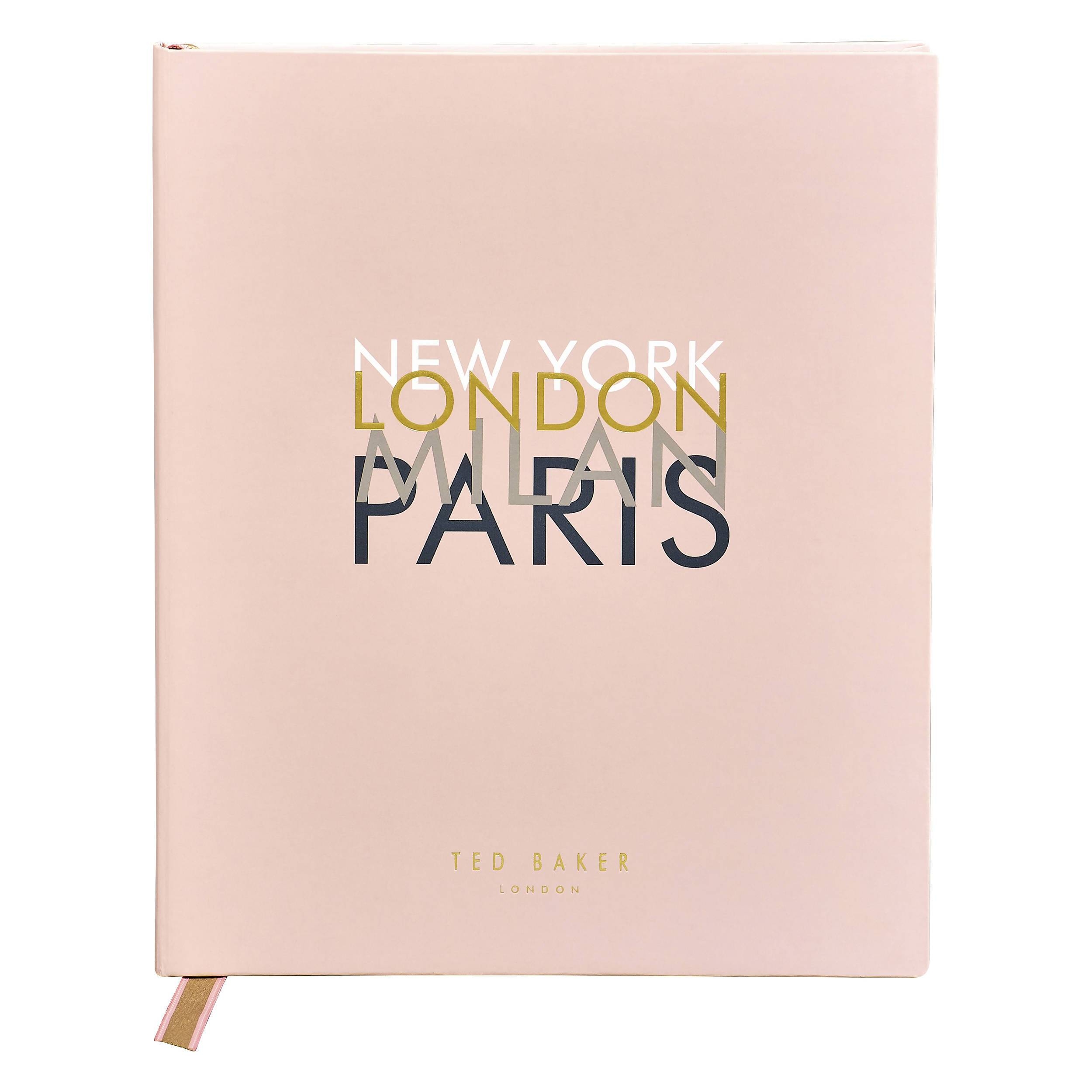 Ted Baker - Travel Journal & Planner - Notebooks - The Planet Collection - Naiise