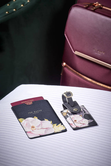 Ted Baker - Passport Holder & Luggage Tag (Travel Set) - Luggage Tags - The Planet Collection - Naiise