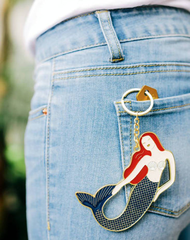 DOIY - Oversized Mermaid Keychain - Keychains - The Planet Collection - Naiise