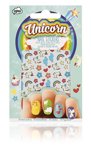 NPW - Unicorn Nail Stickers - Nail Wraps - The Planet Collection - Naiise