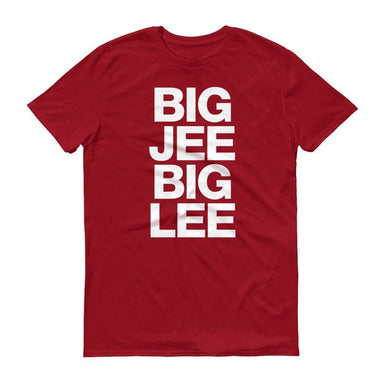 Big Jee Big Lee Crew Neck S-Sleeve T-shirt - Local T-shirts - Wet Tee Shirt / Uncle Ahn T / Heng Tee Shirt / KaoBeiKing - Naiise