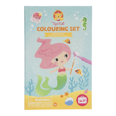 Tiger Tribe Colouring Sets - Mermaid - Children Colouring Books - The Children's Showcase - Naiise