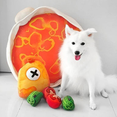 Curry Fish Head Pet Bed Set - Pet Beds - Furball Collective - Naiise