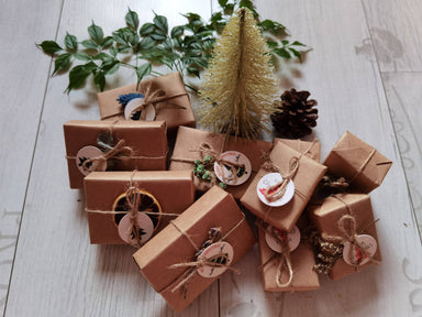 Christmas Collection : Bundle of 10 Soaps (5 Bath Soaps + 5 Hand Soaps) - Soaps - Alletsoap - Naiise