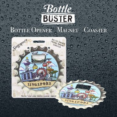 BOTTLE BUSTER - Best Bottle Opener : Watercolor SG - Bottle Openers - La Belle Collection - Naiise