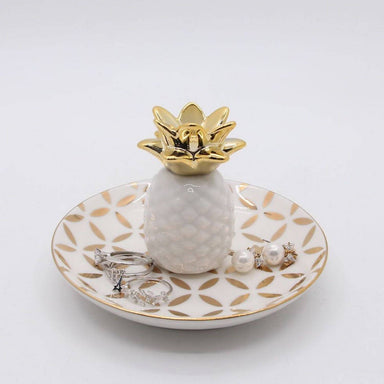 Pineapple Ring Holder - Jewellery Holders - The Planet Collection - Naiise