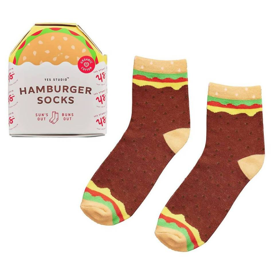 Ridley's Hamburger Socks - Socks - The Planet Collection - Naiise