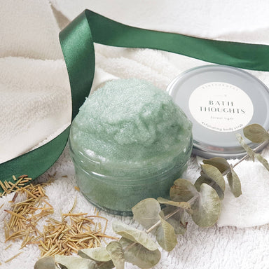 Bath Thoughts Body Scrub - Forest Light Body Scrubs Kintsukuroi Studio