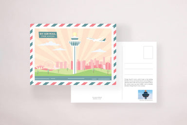 Changi Control Tower Postcard - Local Postcards - YOUNIVERSE DESIGN - Naiise