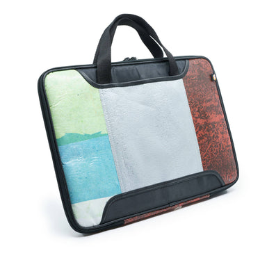 Upcycled Laptop bag (plastic bags) - Laptop Bags - Java Eco Project - Naiise
