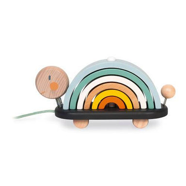Sweet Cocoon Rainbow Turtle Wooden Toy - Kids Toys - The Children's Showcase - Naiise