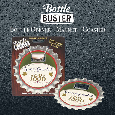 BOTTLE BUSTER - Best Bottle Opener : Groovy Grandad - Bottle Openers - La Belle Collection - Naiise