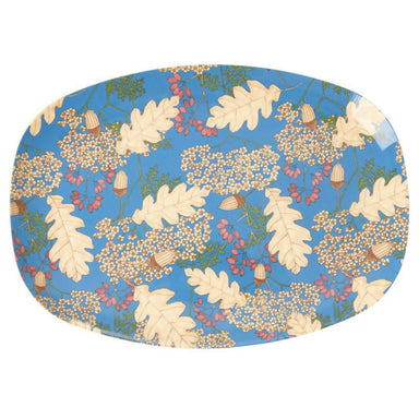 Melamine Rectangular Plate with Autumn and Acorns - Kitchenware - The Children's Showcase - Naiise
