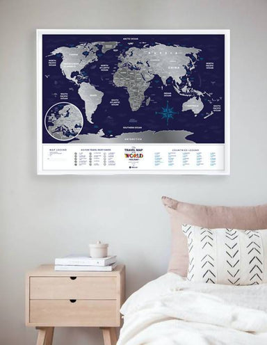 1DEA.me - Holiday World (Travel Map) - Scratch Maps - The Planet Collection - Naiise